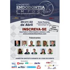 Endodontia em foco | TRÊS DIAS COM GRANDES NOMES DA ENDODONTIA